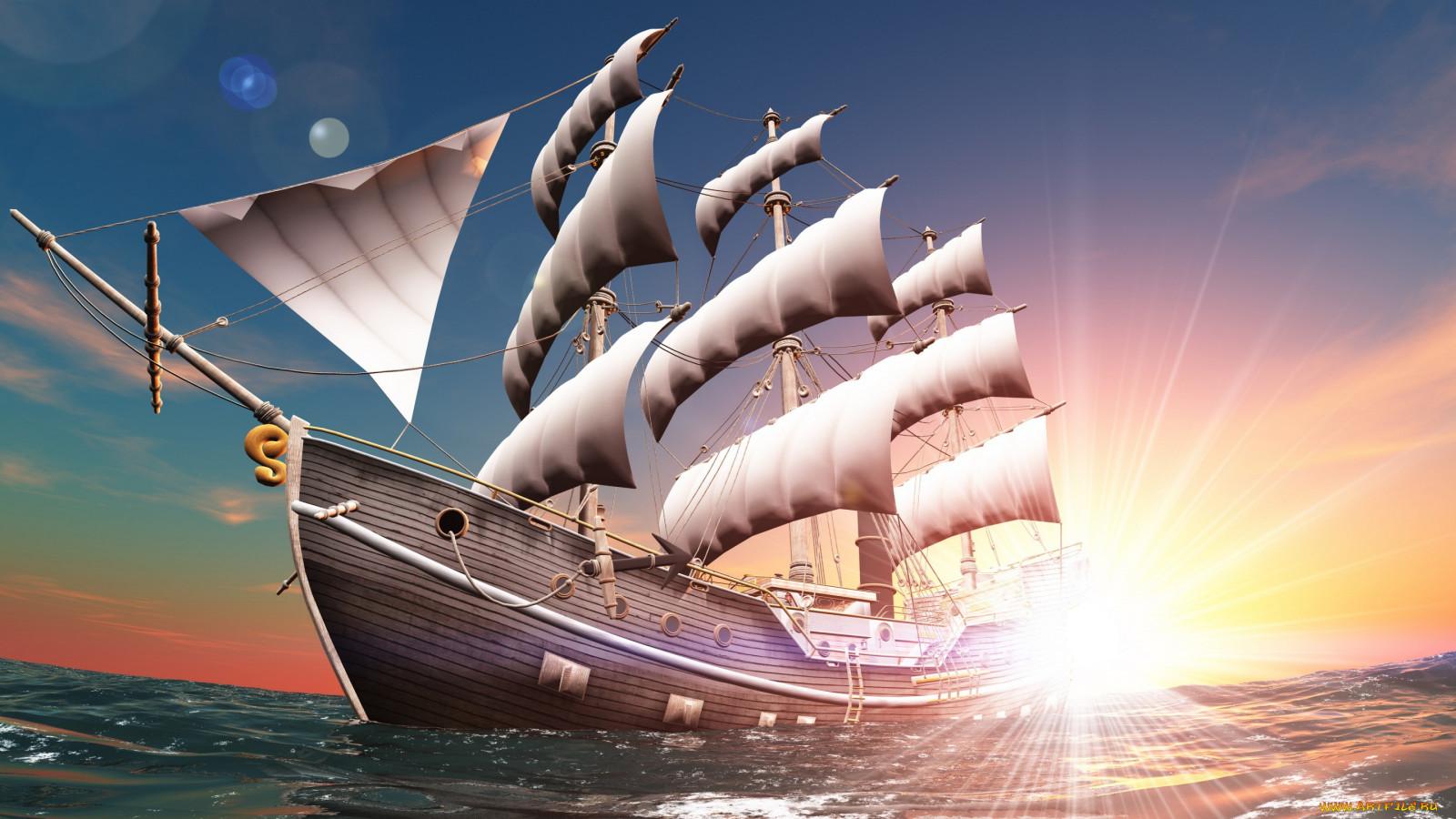 sailing ship and perth